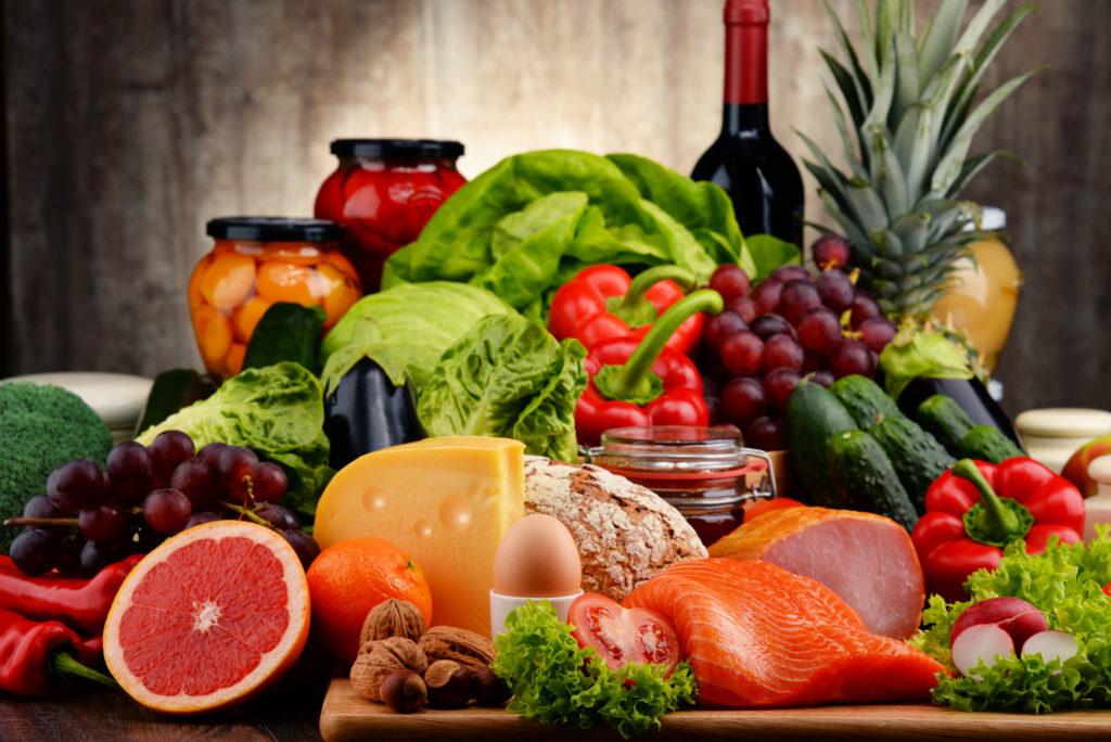 thức ăn giảm béo eat clean