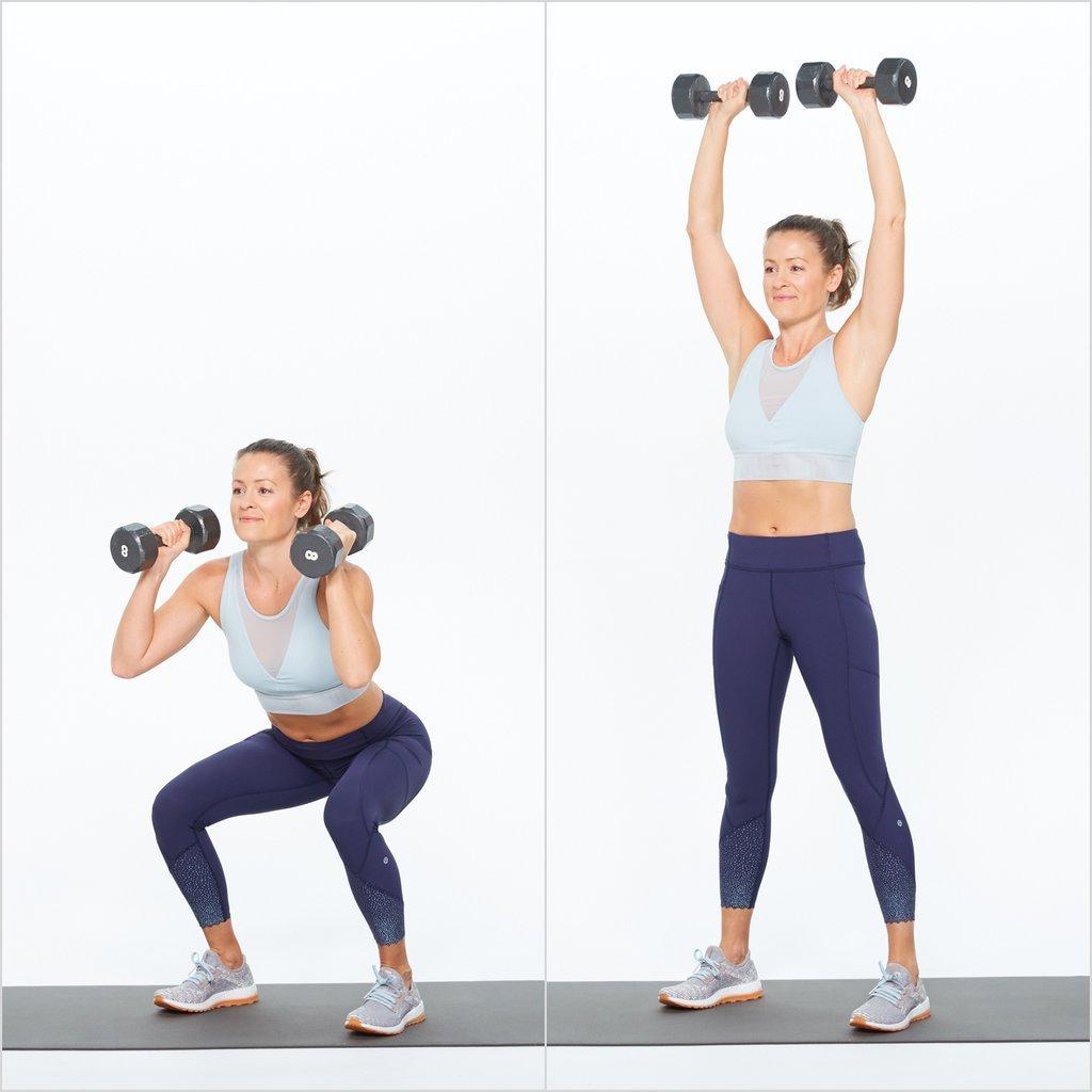 squat làm mông to