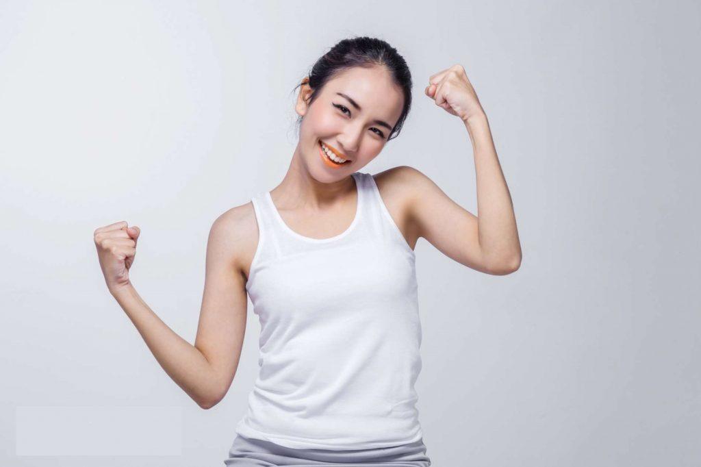quyết tâm giảm béo