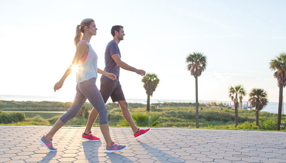 đi bộ và chạy bộ