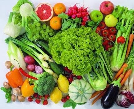 Rau củ quả để có sức khỏe tốt