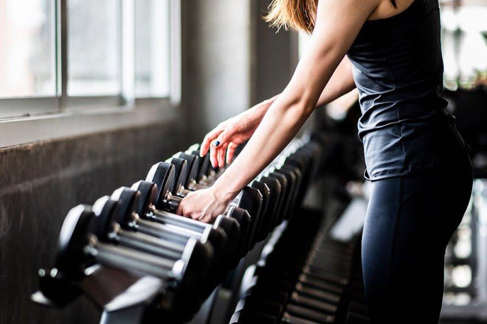 tập gym để giảm mỡ đùi