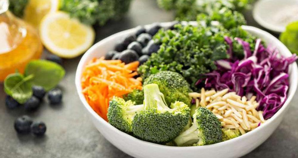 ăn rau quả