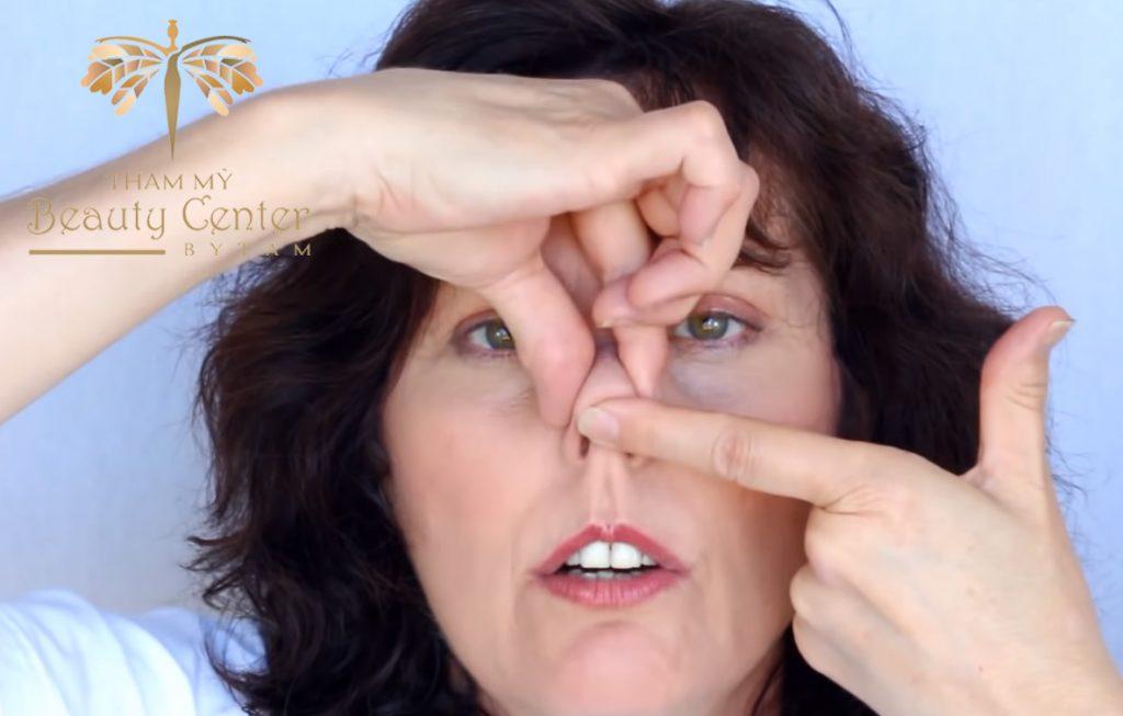 bài tập khắc phục mũi tẹt
