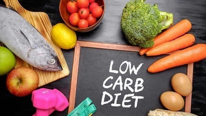 chế độ low carb giảm mỡ bụng