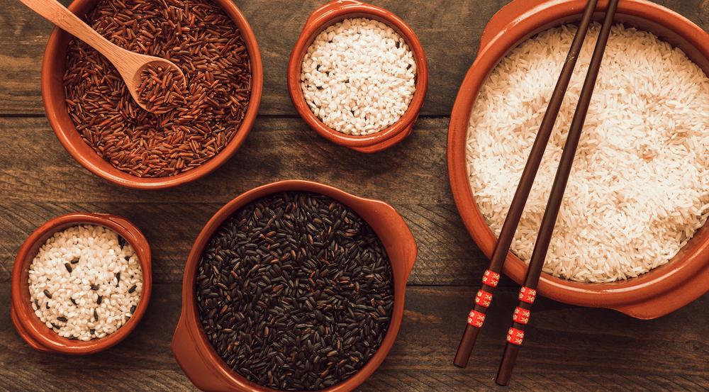 giảm cân với gạo lứt