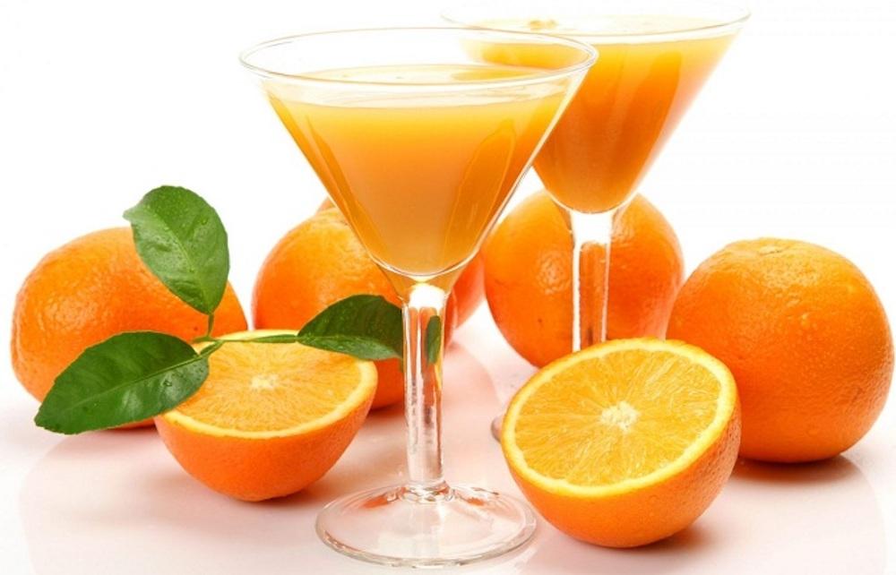 nước cam ép