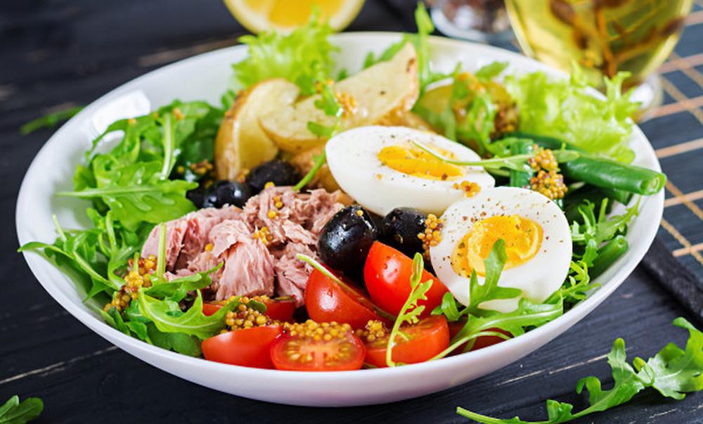chế độ ăn kiêng làm giảm mỡ bụng