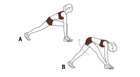 vận động chân