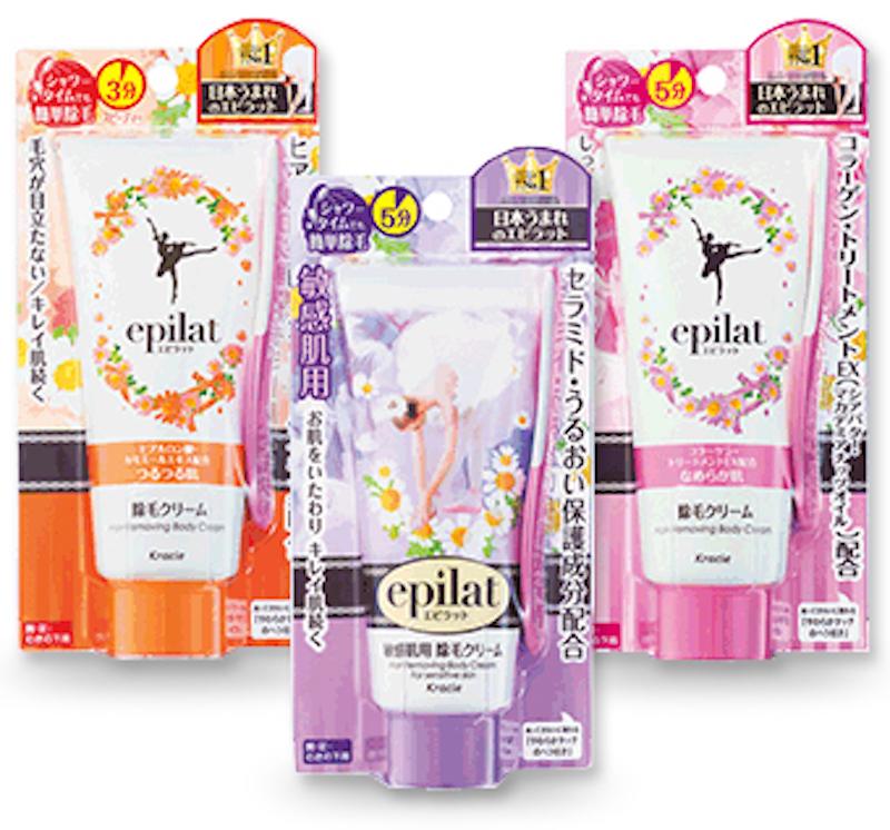 Kem tẩy lông Nhật Bản Kracie Epilat