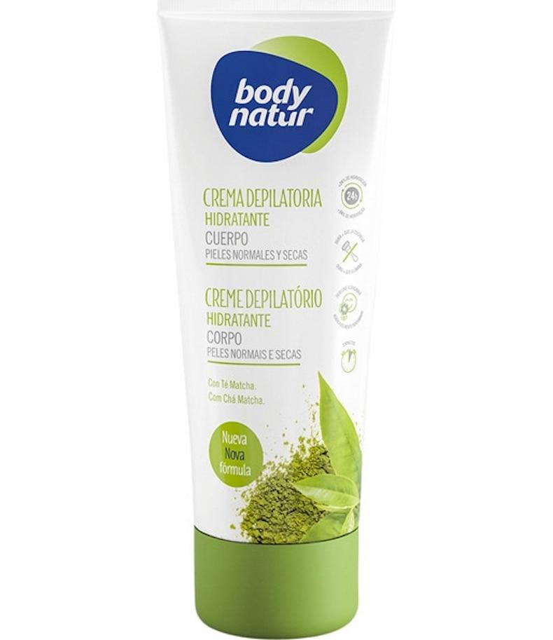 Moisturising Hair Removal Cream Body with Matcha Tea