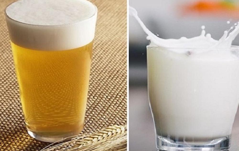 làm trắng da bằng sữa tươi