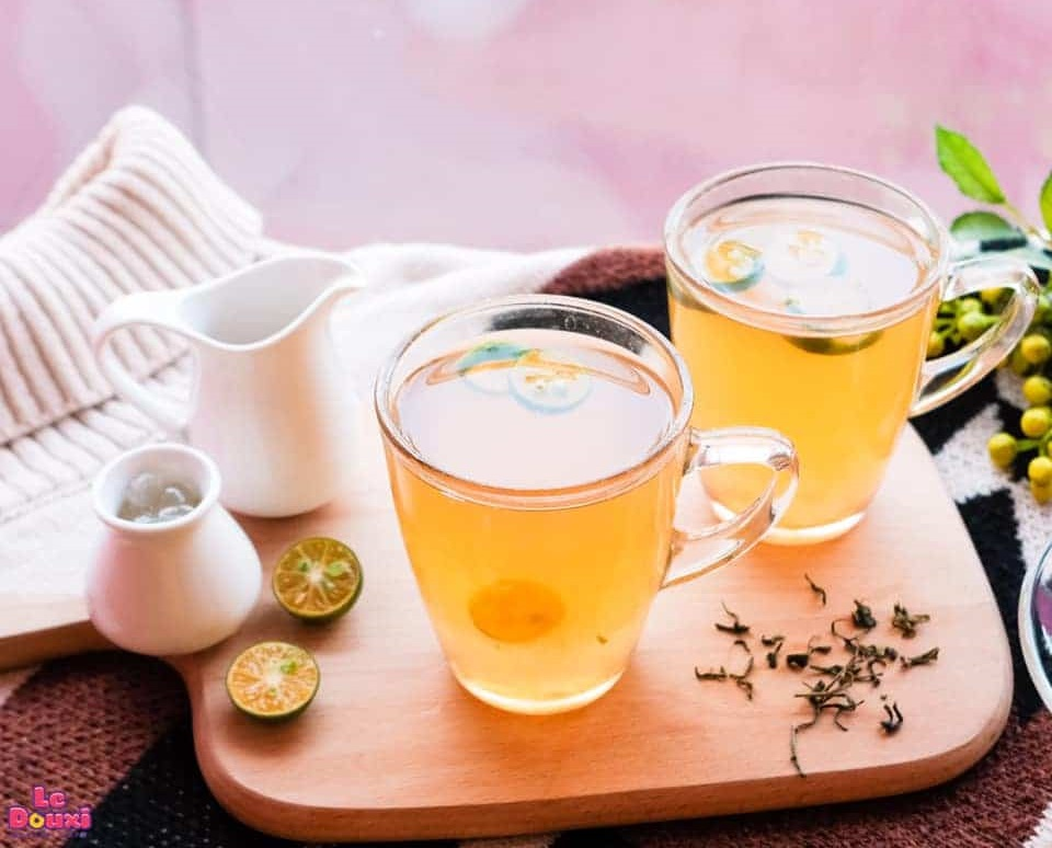 trà quất mật ong giảm cân