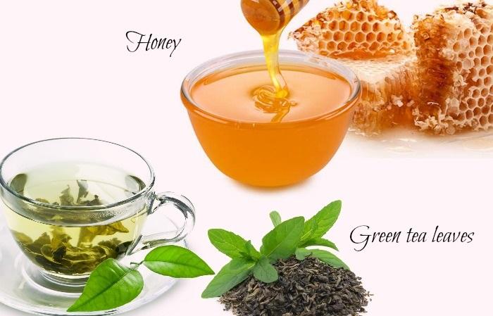trà xanh mật ong giảm cân