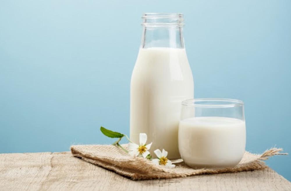 làm trắng da với sữa tươi