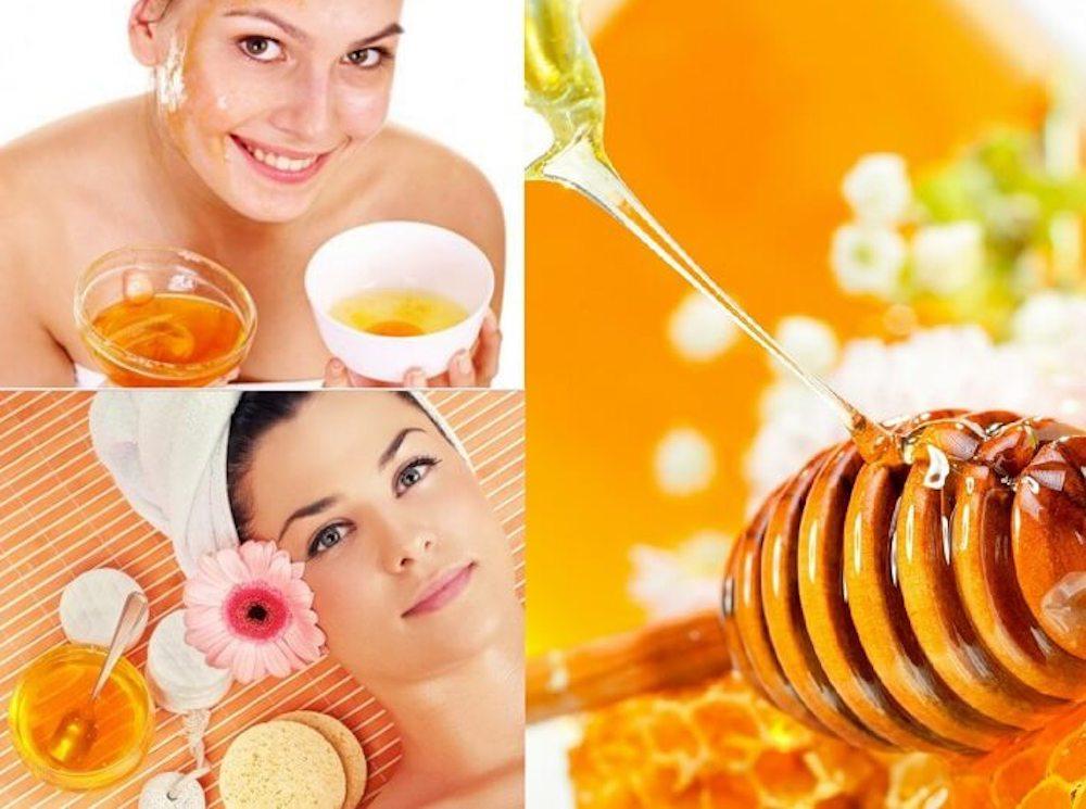trị mụn bằng mật ong