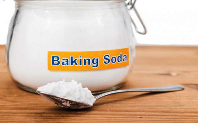 triệt lông bằng baking soda