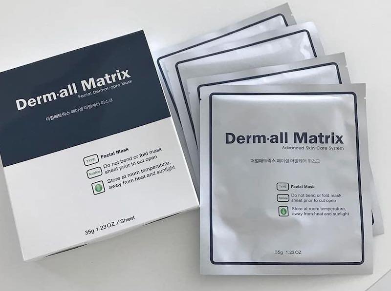 Mặt Nạ Derm all Matrix Facial Dermal Care Mask