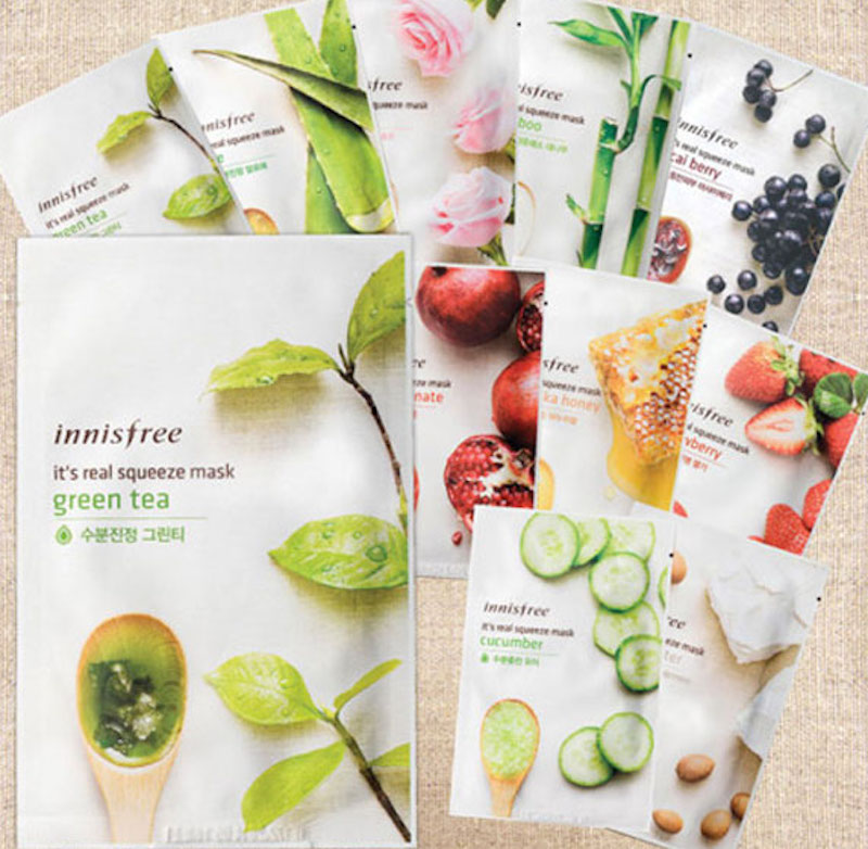 Mặt Nạ Giấy Innisfree It's Real Squeeze Mask
