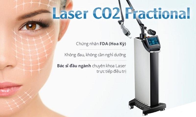 Trị sẹo rỗ bằng phương pháp Laser Fractional CO2