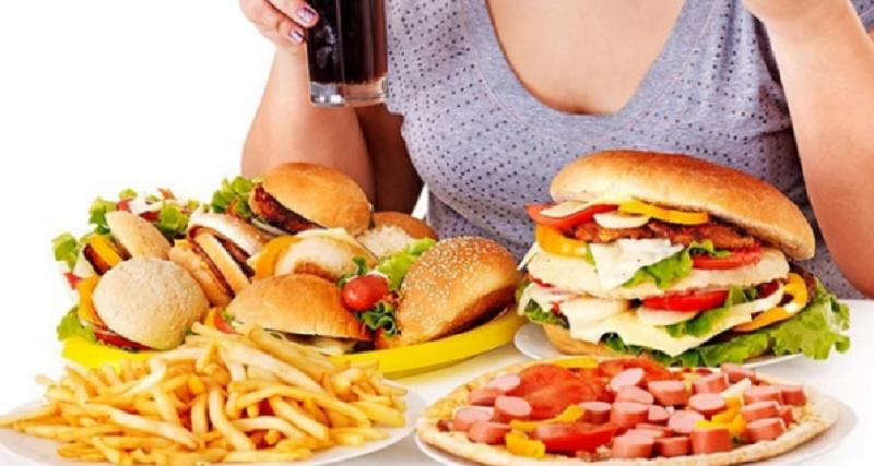 béo phì do chế độ ăn