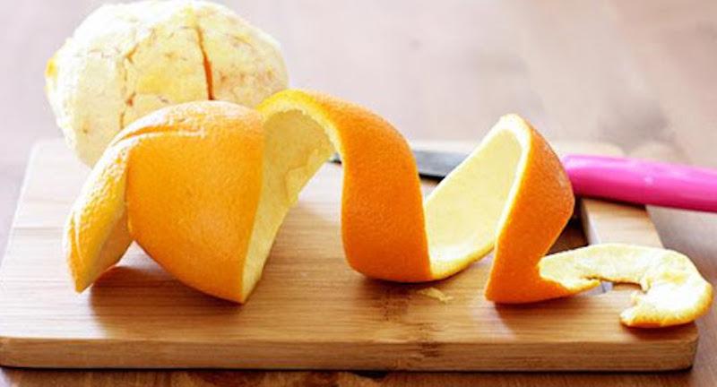 trị nám bằng vỏ cam