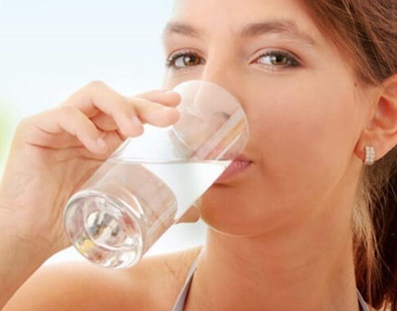 đảm bảo uống đủ nước