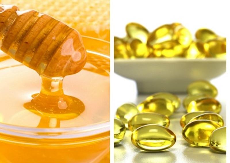 vitamin e và mật ong