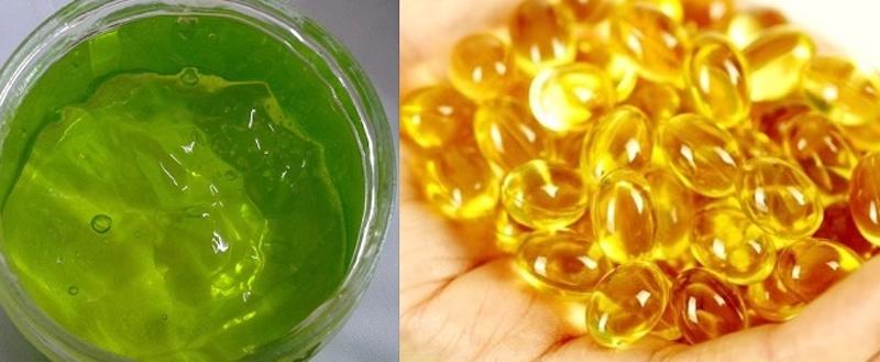 vitamin e và nha đam