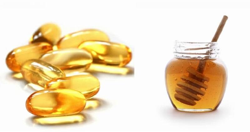 mật ong và vitamin e