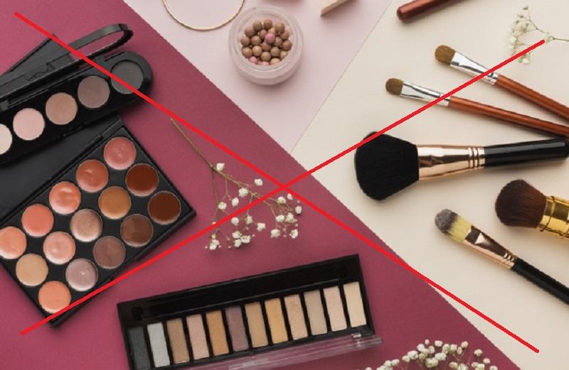 tránh makeup