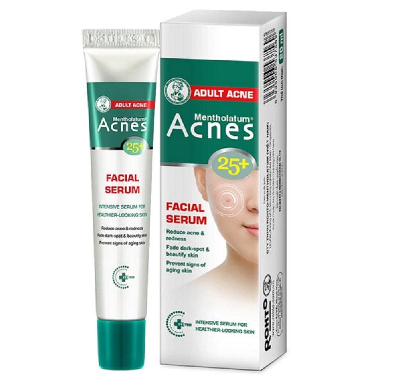 Kem Trị mụn Acnes 25 + Facial Serum