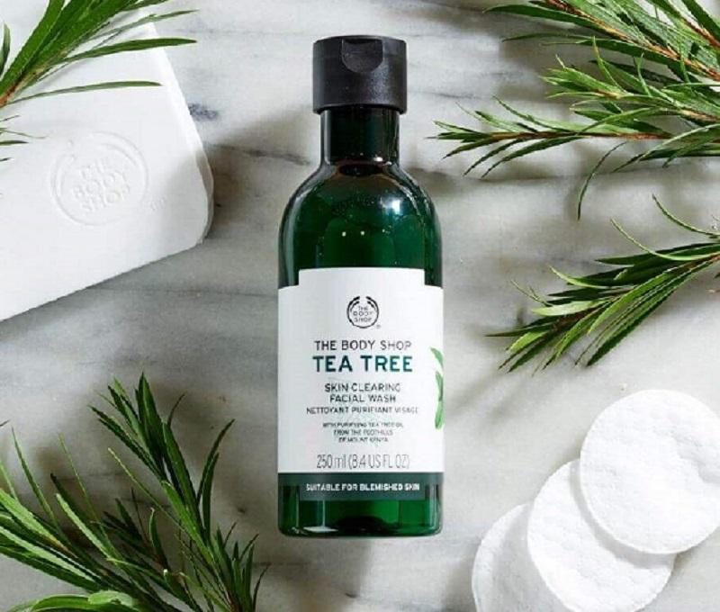 Sữa rửa mặt trị mụn Tea Tree Skin Clearing Facial Wash.