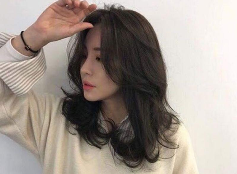 tóc layer uốn