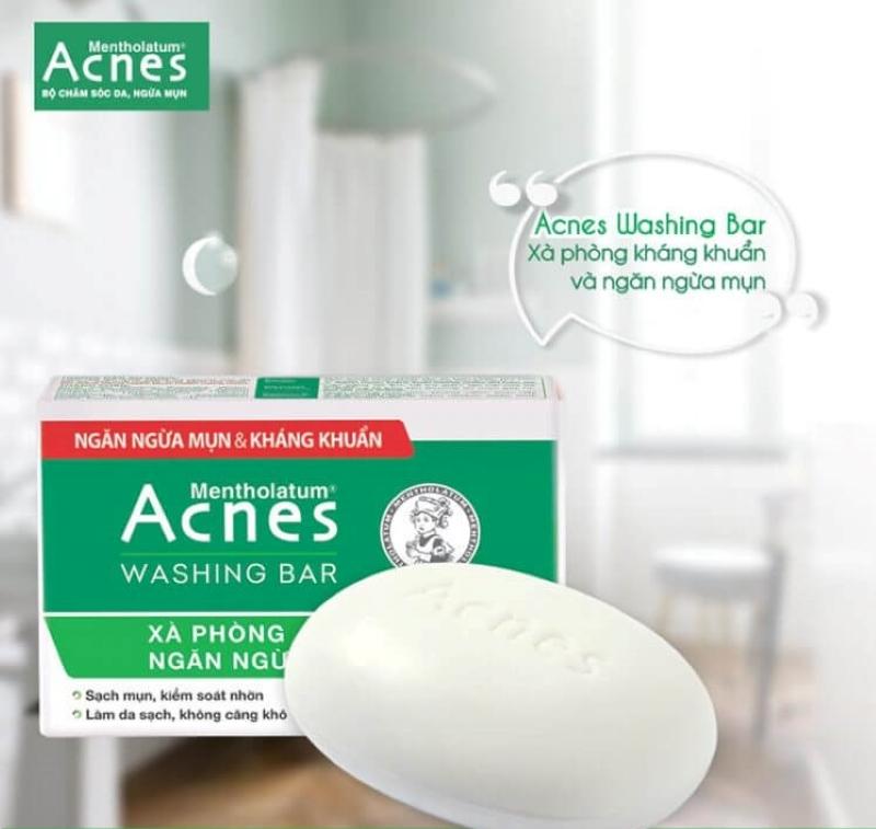 xà phòng trị mụn lưng acnes