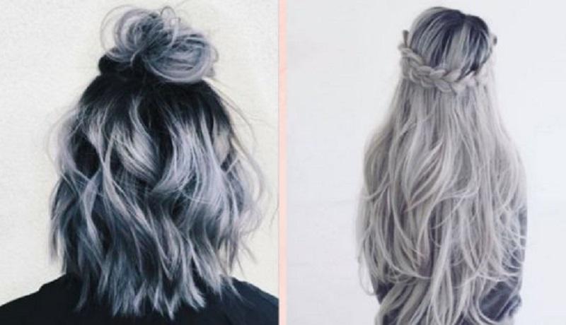Bảng màu tóc khói