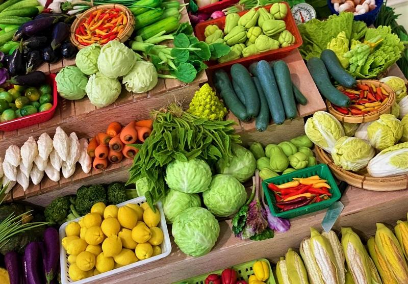 thực đơn giảm cân ăn rau