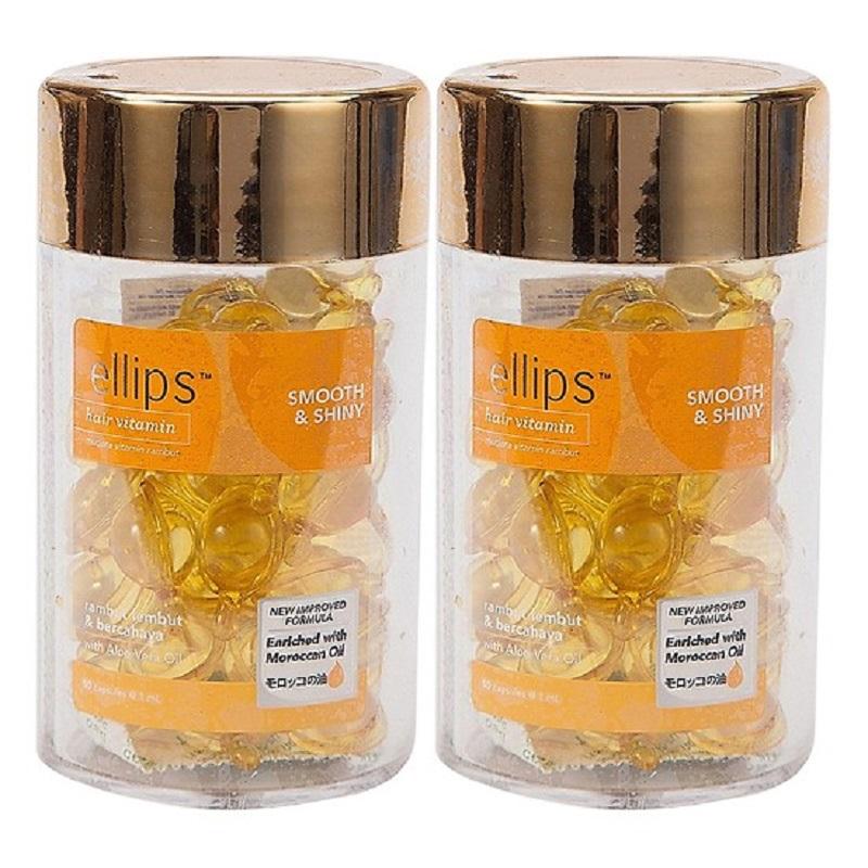 Viên Serum Dưỡng Tóc Mềm Mượt Ellips Hair Vitamin - Smooth & Shiny