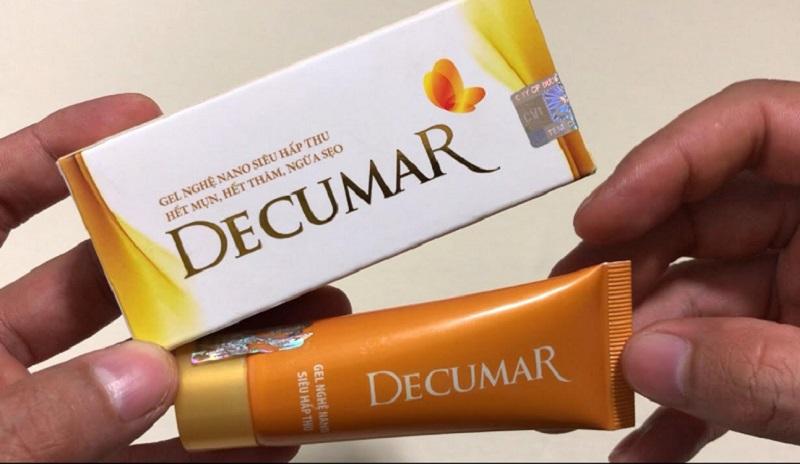 Thuốc đặc trị mụn Decumar