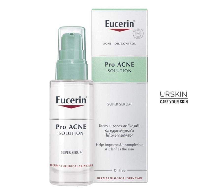 Serum trị mụn thâm Eucerin ProAcne Solution Super Serum