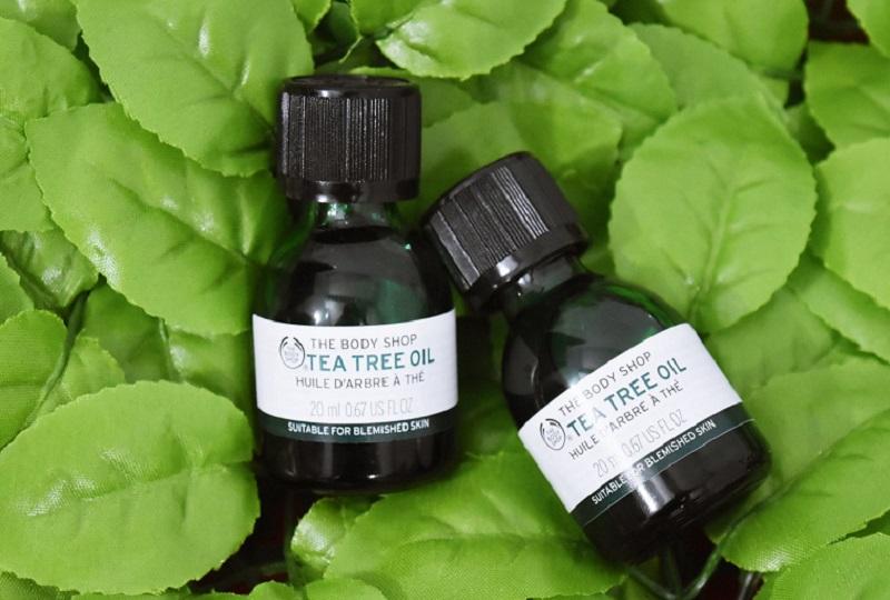 Serum trị mụn The Body Shop Tea Tree Oil