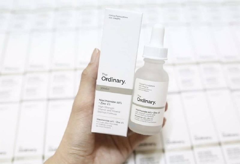 Serum trị mụn, giảm thâm, cân bằng The Ordinary Niacinamide
