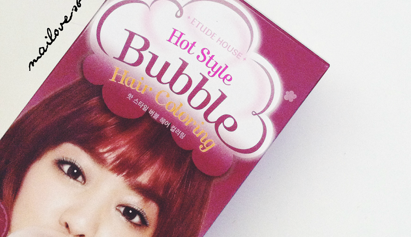 Thuốc nhuộm tóc dạng bọt Etude House Hot Style Bubble