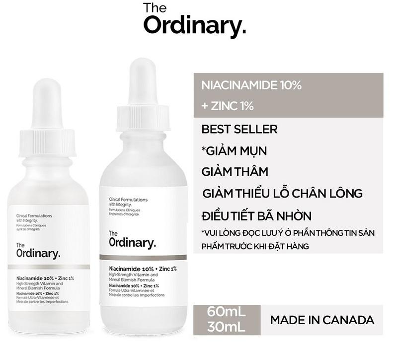 Ordinary Niacinamide 10% + ZinC 1%