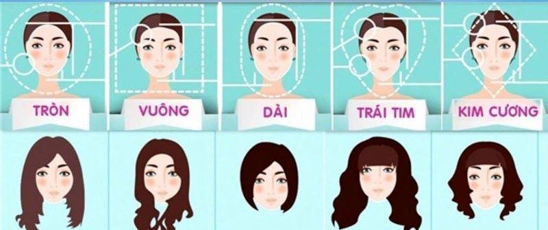 lựa chọn tóc