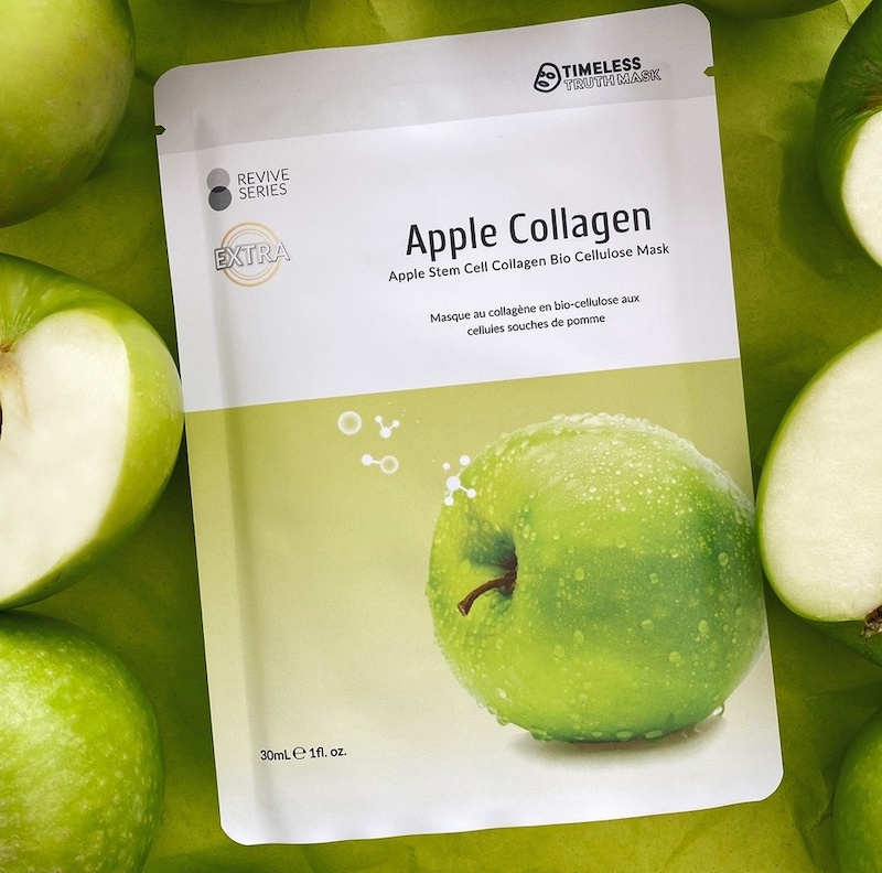 Timeless Truth Apple Stem Cell & Collagen Bio Cellulose Mask