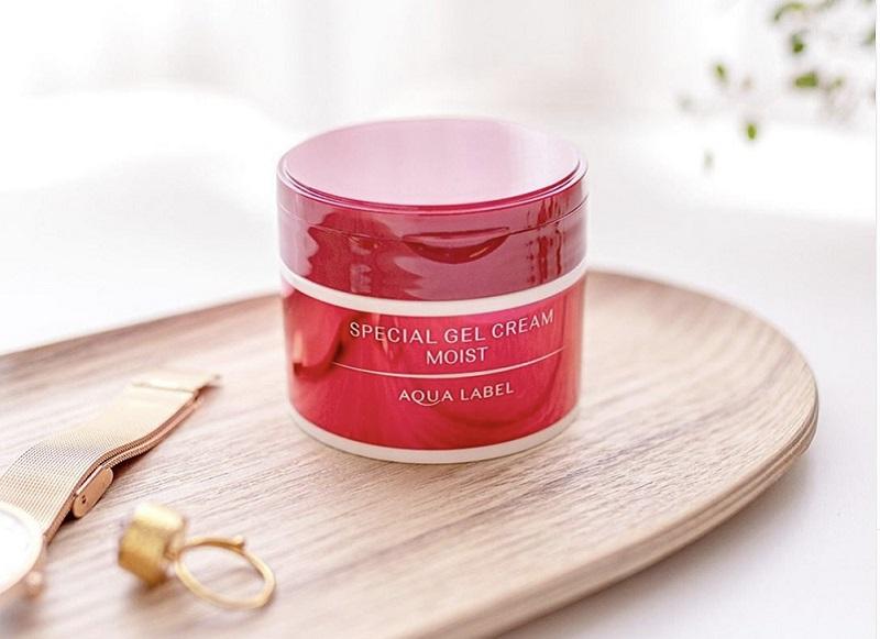 Kem dưỡng ẩm cho da khô Shiseido Aqualabel Gel Cream