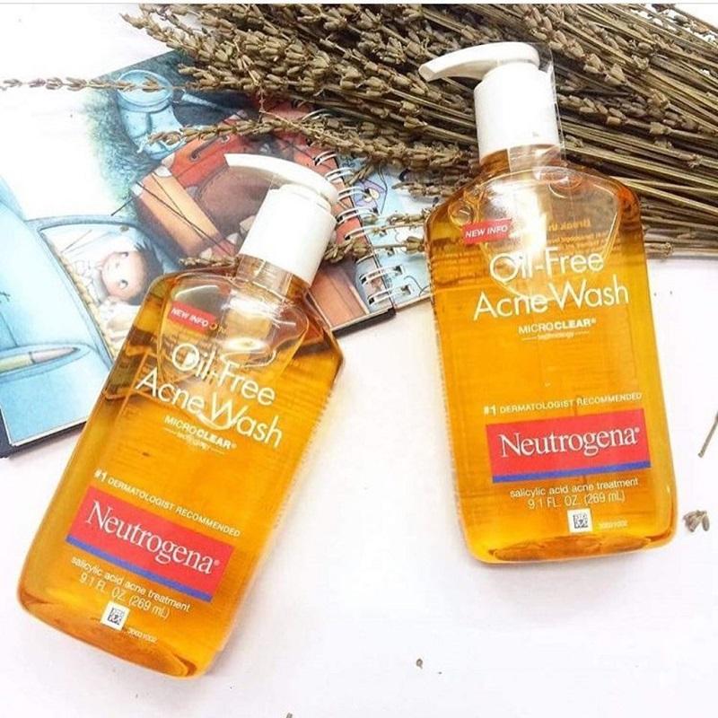 Sữa rửa mặt Neutrogena Oil-Free Acne Face Wash